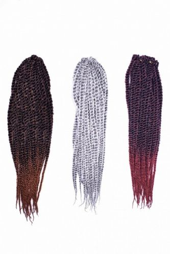 Angels Mambo Pre- Looped Crochet  Twist Braids 15 inches - 40pcs Strand